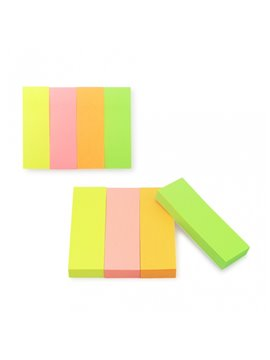 Notas Adhesivas Rectangular 4 Colores - Multicolor