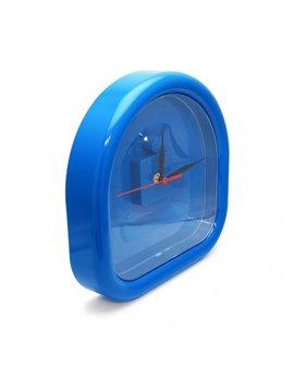 Reloj de pared en forma de arco - Azul