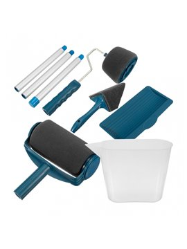 Boina Gorra Flatcolors en Poliester Incluye Broche en Velcro - Azul