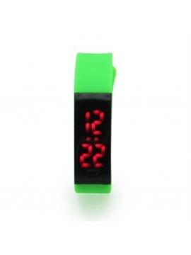 Reloj de Pulso Led Plastico - Verde Claro