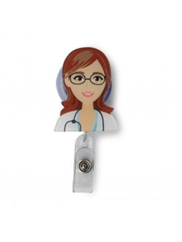 Yoyo Portacarnet Identificador Doctora - Multicolor