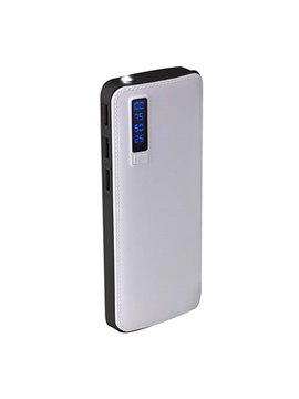 Bateria Externa Power Bank Alaid 7500 mAh Display - Blanco
