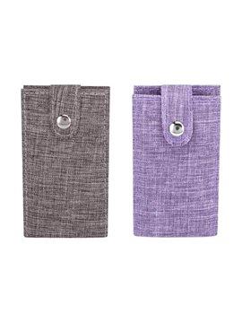 Portafolio Carpeta Ontario Incluye Broche Magnetico y Block - Negro