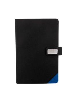 Cuaderno Libreta Boryspil 80 Hojas y Placa - Azul