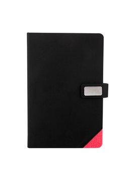 Cuaderno Libreta Boryspil 80 Hojas y Placa - Rojo