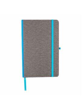 Cuaderno Libreta Sombor con Elastico - Azul