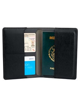 Porta Pasaporte Livigno - Gris