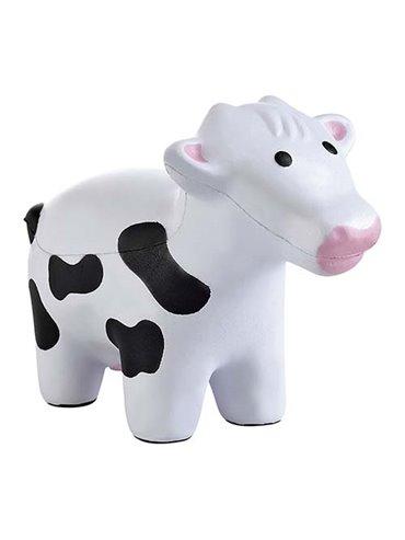 Antiestres en Forma de Vaca Vaquita - Blanco