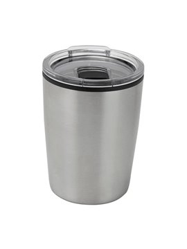 Vaso Mug Termo Niza 120ml Doble Pared - Plata