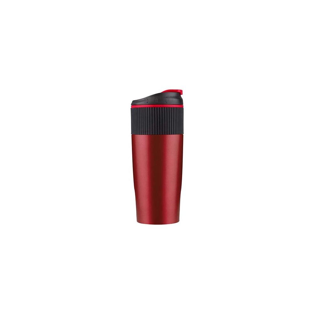 Vaso Mug Termo Vicare Capacidad 450ml - Rojo