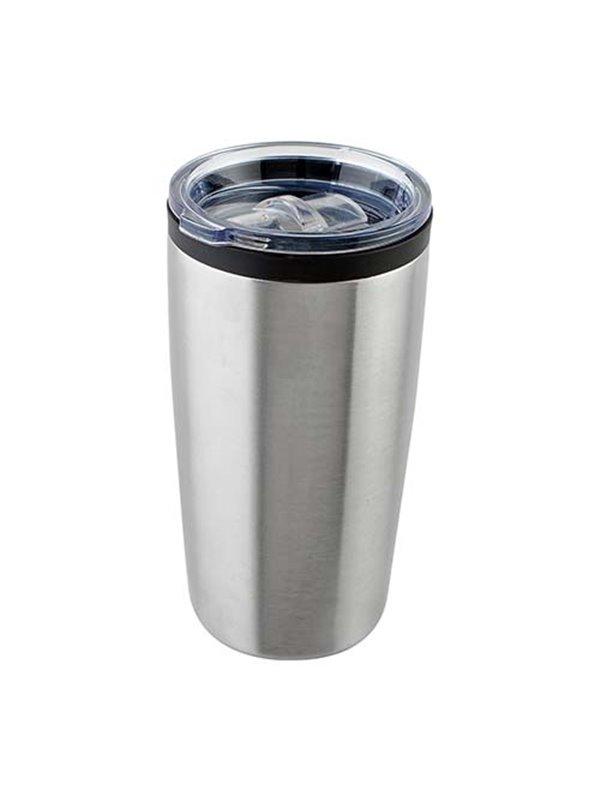Vaso Mug Termo Broadpeak 540ml Doble Pared - Plata