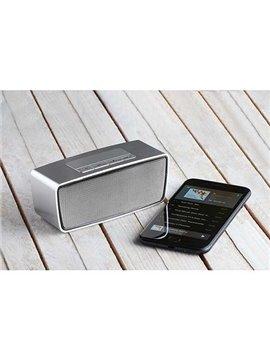 Altavoz Bocina Quime Bluetooth Recargable FM - Plata