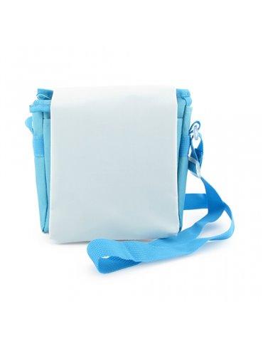 Carriel Mochila Para Nino Sublimacion - Azul Claro