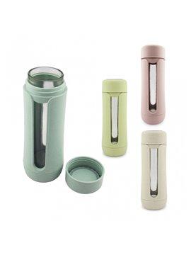Vaso Argens en Plastico Sistema Giratorio Incluye Pitillo - Azul