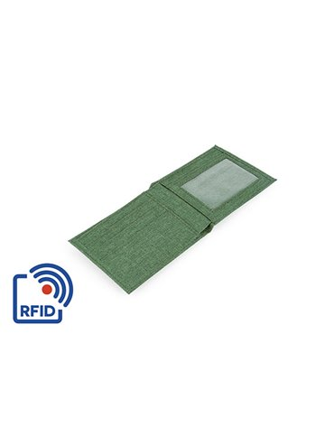 Billetera Ryan Plegable Proteccion RFID - Verde Oliva
