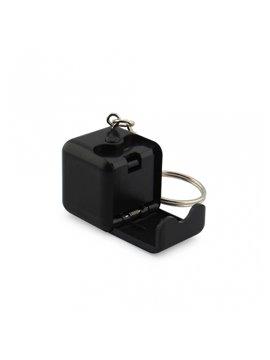 Llavero Porta Celular Cubo - Negro