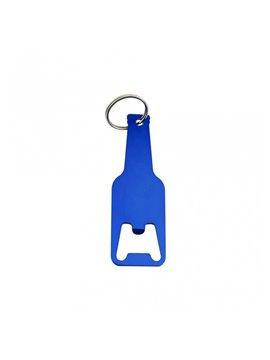 Llavero Destapador Forma de Botella - Azul