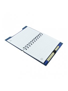 Cuaderno Libreta Agenda Ecologica Incluye Boligrafo - Rojo
