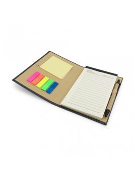 Cuaderno Libreta Ecologica Notas y Esfero - Gris
