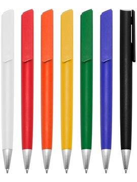 Esfero Boligrafo Perso Cuerpo Color Pulsador - Amarillo