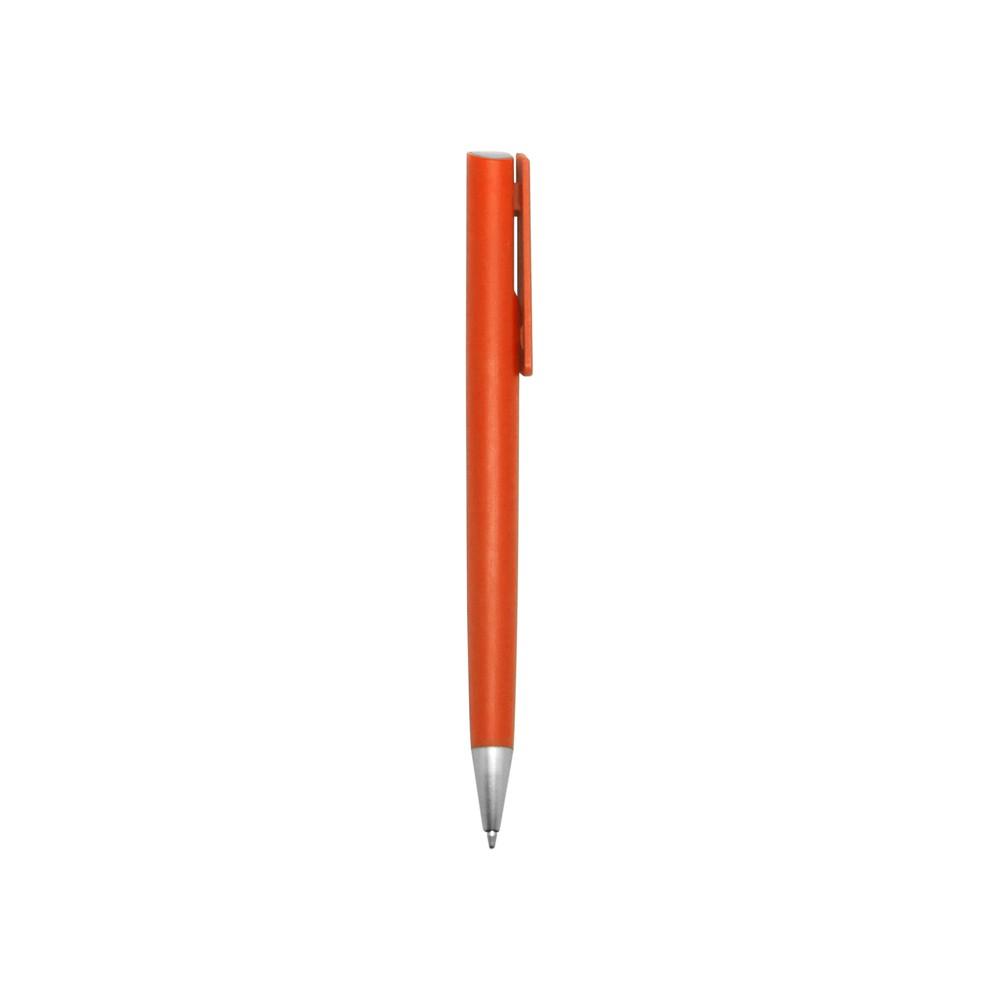 Esfero Boligrafo Perso Cuerpo Color Pulsador - Naranja