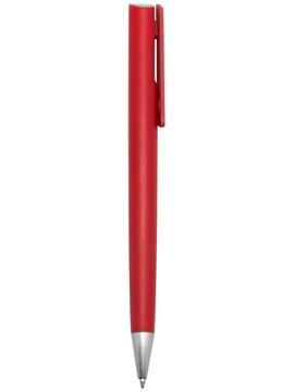 Esfero Boligrafo Perso Cuerpo Color Pulsador - Rojo
