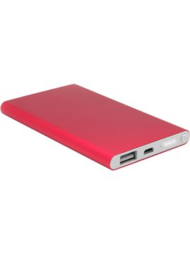 Bateria Externa Power Bank Cetus 4000 mah - Rojo
