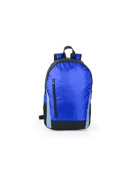 Lonchera Pequeña en Plastico con Tapa Hermetica - Azul