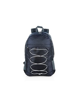 Maletin Morral Plegable Monet Impermeable - Negro