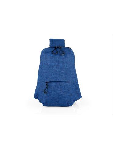 Maletin Morral Hemingway Cargadera Acolchada - Azul Oscuro