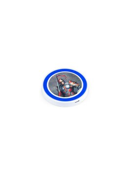 Foco Linterna Capsula Aleacion de Aluminio Luz Forma Capsula - Plateado