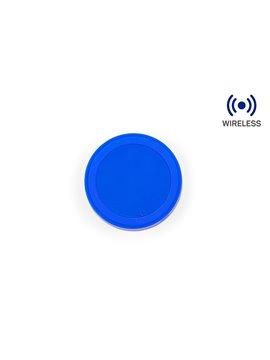 Cargador Inalambrico Santorini 5 W Qi - Azul Rey