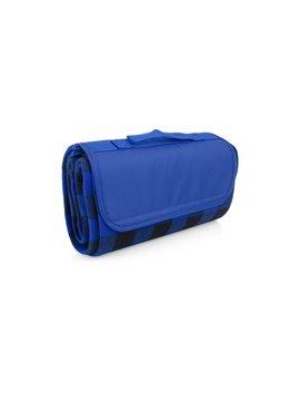 Manta Cobija Picnic Lalys Doble Textura Camping - Azul