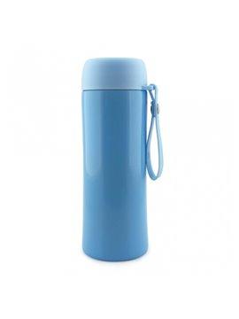 Botella Botilito Termo Metalico Moderno - Azul