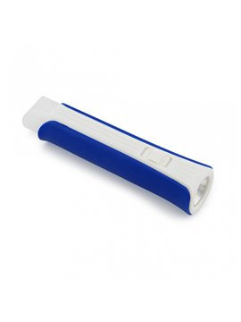 Linterna Recargable Led Power Bank 1200 mah - Azul