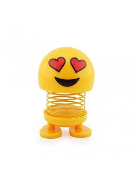 Emoji Resorte con Adhesivos para el Carro - Enamorado