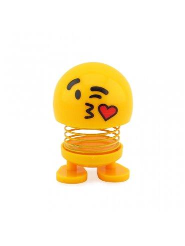 Emoji Resorte con Adhesivos para el Carro - Beso