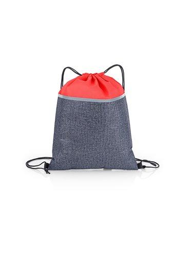 Bolsa Tula Mochila Morgan - Rojo