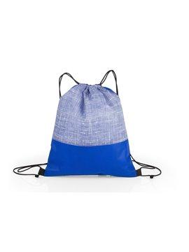 Bolsa Tula Mochila Russel Doble Cordon - Azul Rey
