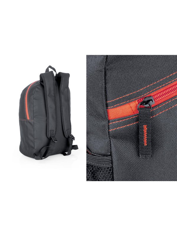 Maleta Morral Backpack Antirrobo Bobby Biz Poliester - Negro