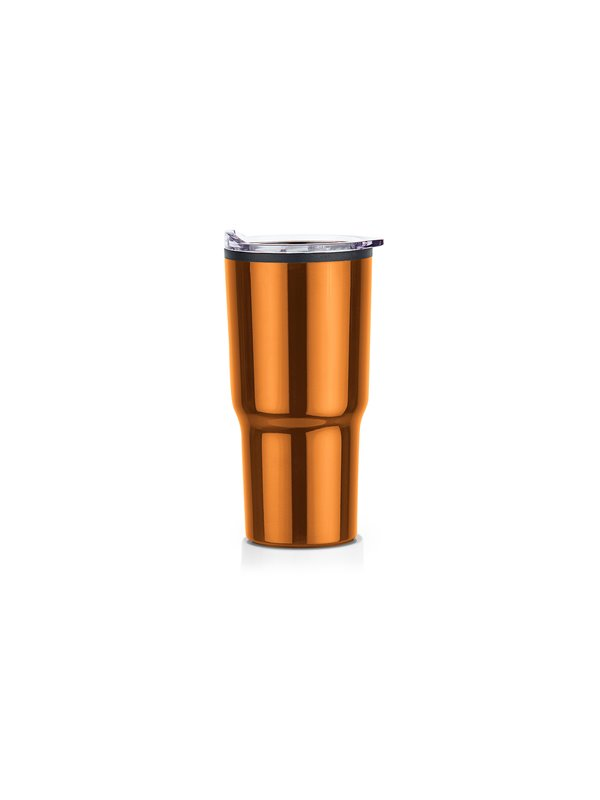 Vaso Acero Relax 600ml Doble Pared - Cobre
