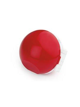 Mini Altavoz Parlante Alambrico Ball Practico Diseno - Rojo