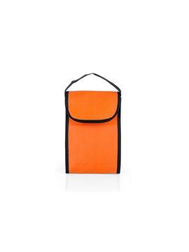Nevera Lonchera Michelle Interior Aluminio Cierre Velcro - Naranja