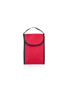 Nevera Lonchera Michelle Interior Aluminio Cierre Velcro - Rojo