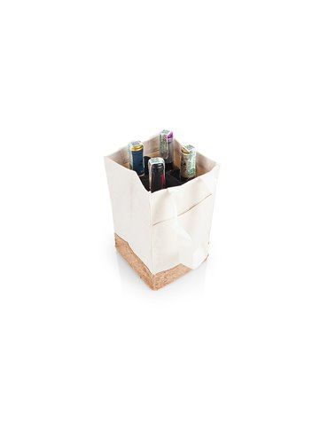Bolsa Para Vinos Sharon Diseño Corcho - Natural