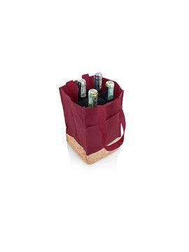 Bolsa Para Vinos Sharon Diseño Corcho - Vinotinto