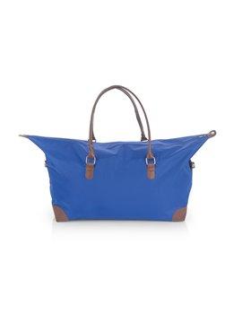 Bolso de Mano Scarlett Agarradera Imitacion Cuero - Azul Rey