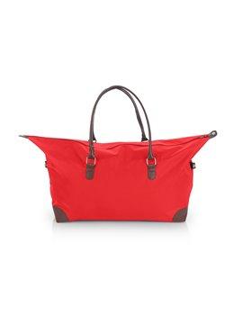 Bolso de Mano Scarlett Agarradera Imitacion Cuero - Rojo