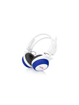 Audifonos Plegables Class Tapas de Silicona Sonido Estereo - Azul