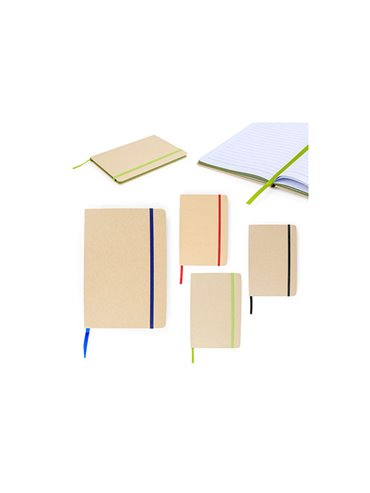 Cuaderno Libreta Ecologica Neptuno Tapa Dura - Negro